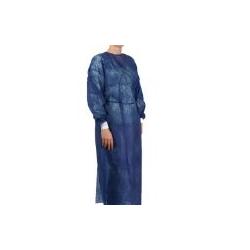 Ampri Besucherkittel Größe M - Blau (1 Beutel = 10 Stück)