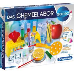Clementoni® Experimentierkasten Galileo - Das Chemielabor, Made in Europe