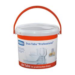 Xavax 2-Phasen-Profi-Tabs für Geschirrspülmaschinen, 160 Stück Haushaltsreiniger grau