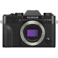 Fujifilm X-T30 schwarz + XF 18-55mm R LM OIS