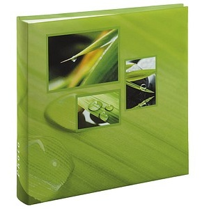 hama Fotoalbum Singo neutral 30,0 x 30,0 cm, 100 weiße Seiten