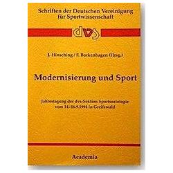 Modernisierung und Sport - Buch