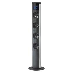 SALCO Turmventilator Turmventilator STW-1001 schwarz