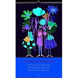 Geschenkpapierkalender 2021