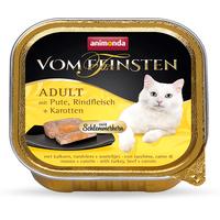 Animonda Vom Feinsten Adult mit Schlemmerkern, Pute, Rindfleisch & Karotten 100 g
