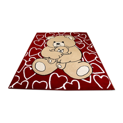 Kinderteppich Kinderteppich Trendline Bären, Pergamon, Höhe 8 mm 160 cm x 225 cm x 8 mm