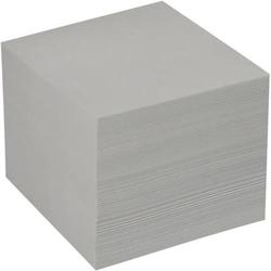 Notizklotz 9x9cm 800 Blatt geleimt graues recycling Papier
