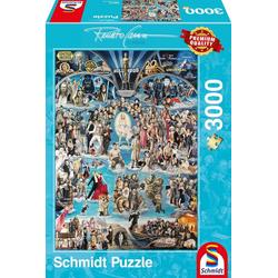 Schmidt Spiele Puzzle Hollywood XXL, 3000 Puzzleteile