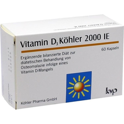 Vitamin D3 Köhler 2000 IE