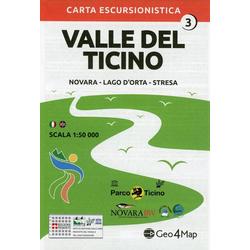 Valle del Ticino 3. 1 : 50.000
