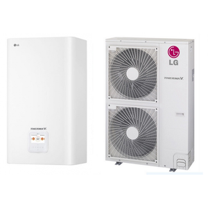 LG Wärmepumpe Therma V HU121 + HN1616 12 kW