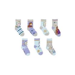 Mäd. Socken Blau/Grau/Lila FRZ Gr.23/26