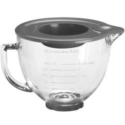 KitchenAid Küchenmaschinenschüssel 5KSM5GB für Küchenmaschine 4.3L & 4.8L, Glas