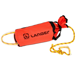Langer WURFSACK EASY THROW - Bootszubehör - rot