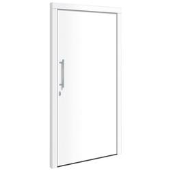 RORO Türen & Fenster Haustür Otto 1, BxH: 100x210 cm, weiß, ohne Griff