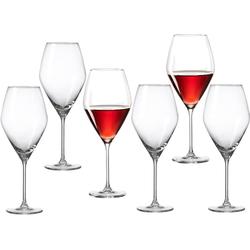 Ritzenhoff & Breker Portweinglas Salsa, Glas, (Burgunderglas), robust und kristallklar, 6-teilig