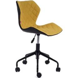MY SIT Bürostuhl Design-Hocker Drehstuhl Stuhl INO Gelb/Schwarz