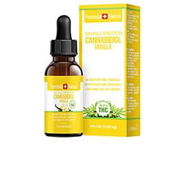 CANNABIDIOL drops 10% CBD vanilla oil 1000mg <0,2%THC 10 ml