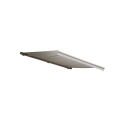 MCW Kassettenmarkise H123-4,5x3-V Elektrische Kassetten-Markise, Winkel von 0° bis 35° stufenlos einstellbar beige