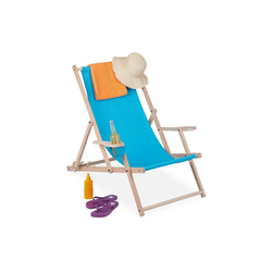 relaxdays Gartenliege Liegestuhl klappbar