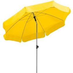 Schneider Sonnenschirm Locarno zitrus, Ø 200 cm