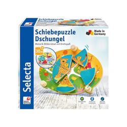 Selecta Puzzle Dschungel 24cm ab 30 Monaten, 5 Puzzleteile