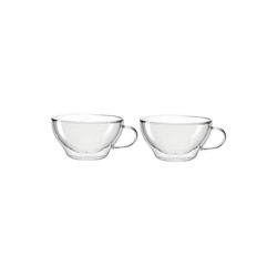 LEONARDO Teeglas Teetassen 2er-Set, 380 ml DUO (2-tlg)