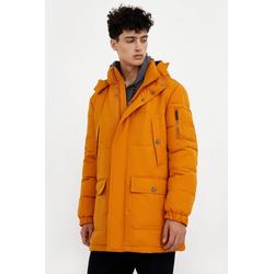 Finn Flare Winterjacke mit praktischen Taschen gelb XXL