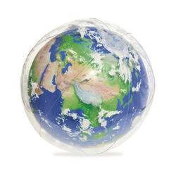 Bestway Wasserball Wasserball Earth Glowball mit LED-Licht, 61 cm