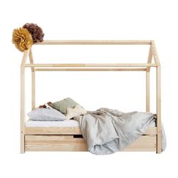 Łóżko Kariana domek dziecięcy z drewna