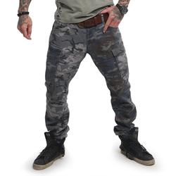 Harlekin Cargo Pants (Größe: W34, Farbe: bunt)