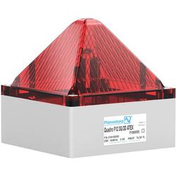 Pfannenberg Blitzleuchte QUADRO F12 -3G/3D 24 DC RD Rot 24 V/DC