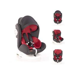 Lorelli Autokindersitz Kindersitz Lusso, SPS, Isofix, Gruppe 0+/1/2/3, 9.5 kg, (0-36 kg), Sitz drehbar rot