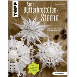Zarte Butterbrottütensterne (kreativ.kompakt.) als Buch von Gudrun Schmitt