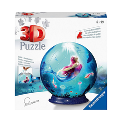 Ravensburger Puzzle Puzzle Bezaubernde Meerjungfrauen, 72 Teile, Puzzleteile