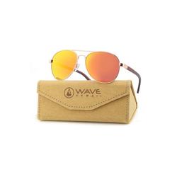 Wave Hawaii Sonnenbrille Sportliche Sonnenbrille 'LOOKBACK' natur