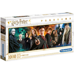 Clementoni® Puzzle Panorama Harry Potter, 1000 Puzzleteile, Made in Europe