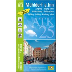 Mühldorf a.Inn 1 : 25 000