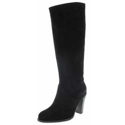 FB Fashion Boots SOFIA HIGH Damen Lederstiefel Schwarz Stiefel Rahmengenäht 42 EU
