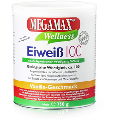Megamax Eiweiß Vanille 750 G Pulver