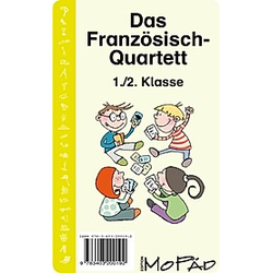 Das Französisch-Quartett (Kartenspiel). Bernd Wehren  - Buch