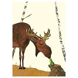 Elch, Postkarten