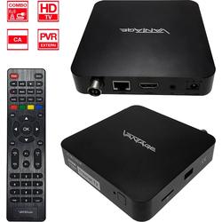 Vantage VT-96 U HDTV Kabel + DVB-T2 Receiver mit IR-Auge DVB-T2 Receiver (LAN (Ethernet)