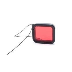 vhbw Farb-Filter rot passend für Action-Kamera mit Unterwassser-Gehäuse GoPro Hero 5, 6