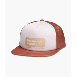 Cap DIAMOND - Hardware Trucker Hat W/ Rope Brown (BRN)