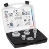 Fliesenbohrer DrySpeed/Milling Cutter Set ( für Winkelschleifer )