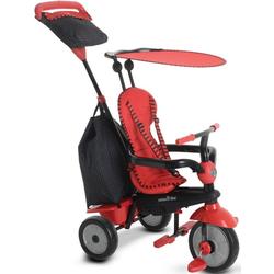 smarTrike® Dreirad Glow, Rot, mit Sonnenschutzdach