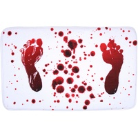 Sanilo Badematte Blood Feet Sanilo, Höhe 15 mm, schnell trocknend, Memory Schaum rechteckig - 50 cm x 80 cm x 15 mm
