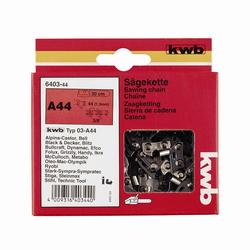KWB Sägekette für Kettensäge M60 Länge: 40 cm, Kettenteilung: 10mm (3/8