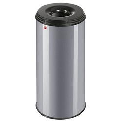 Hailo Profiline Safe XL Papierkorb 45,0 l silber